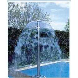 Cortina de agua para piscina